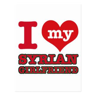 Carte Postale Épouse de la Syrie