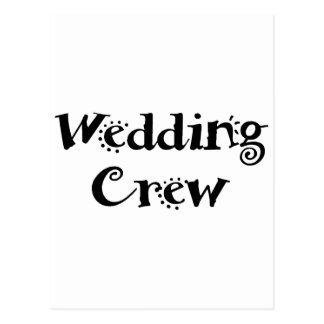 Carte Postale Épouser l'équipage