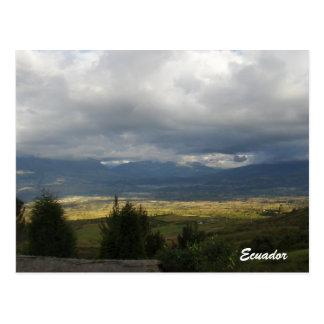carte postale Equateur