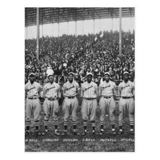 Carte Postale Équipe de baseball de monarques de Kansas City