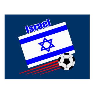 Carte Postale Équipe de football de l'Israël
