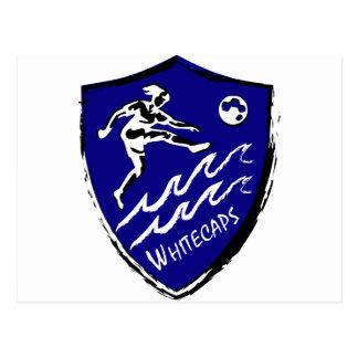 Carte Postale Équipe de football des femmes de Whitecaps