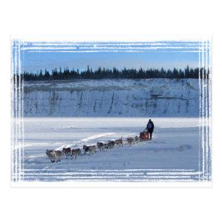Carte Postale Équipe de recherche du Yukon