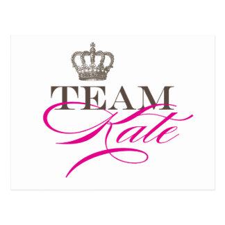 Carte Postale Équipe Kate | le mariage royal