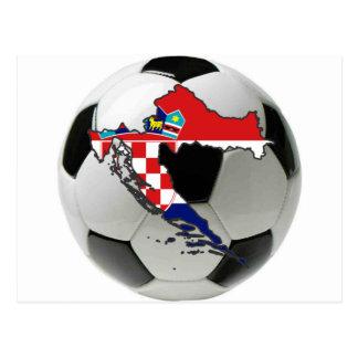 Carte Postale Équipe nationale de la Croatie