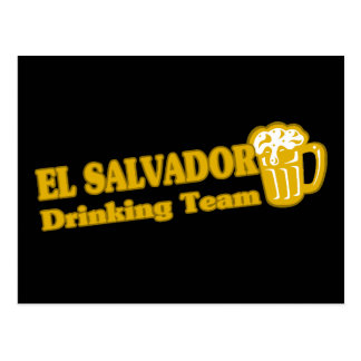 Carte Postale Équipe potable du Salvador