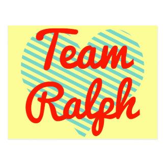 Carte Postale Équipe Ralph