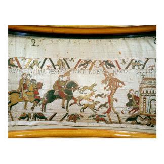 Carte Postale Équitation de Harold de comte avec ses chevaliers
