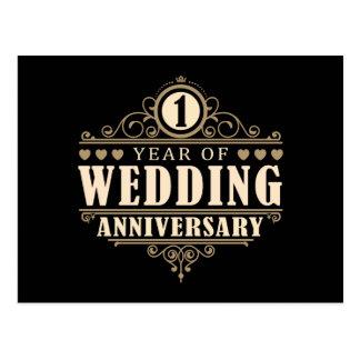 Carte Postale ęr Anniversaire de mariage