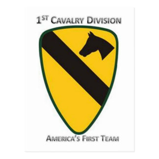 Carte Postale ęr Division de cavalerie