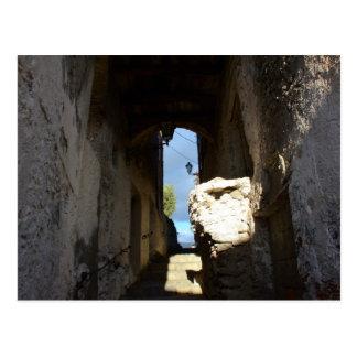 Carte Postale Escalier antique