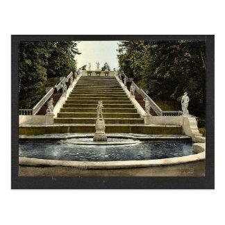 Carte Postale Escalier d'or de Peterhof, clas de St Petersburg,