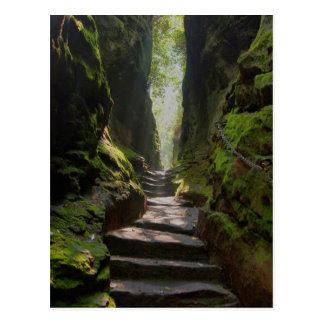 Carte Postale Escalier mystique