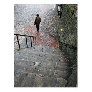 Carte Postale Escaliers de la savane