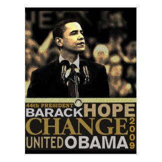 Carte Postale Espoir de Barack Obama