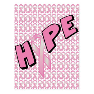 Carte Postale Espoir de cancer du sein