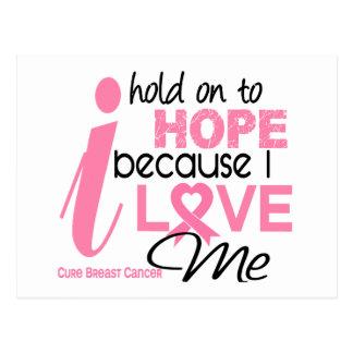 Carte Postale Espoir de cancer du sein pour MOI