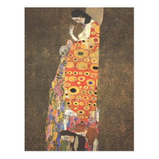 Carte Postale Espoir II de Gustav Klimt-