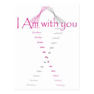Carte Postale Espoir pour un traitement pour le cancer du sein