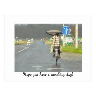 Carte Postale Espoir vous avez un jour sunshiny ! La Hongrie