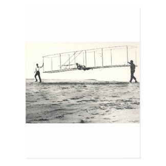 Carte Postale Essais du planeur des frères de Wright