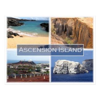 Carte Postale EST l'île - l'île d'ascension -