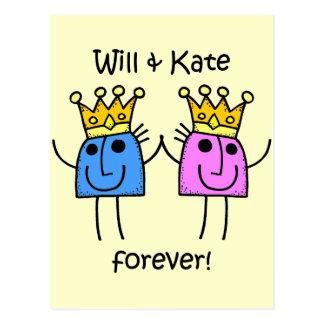 Carte Postale Et Kate
