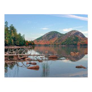 Carte Postale Étang de la Jordanie de parc national d'Acadia