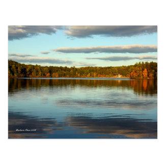 Carte postale : Étang de Walden