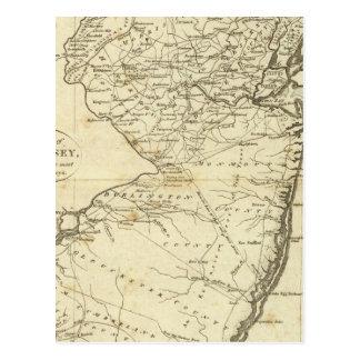 Carte Postale État de New Jersey