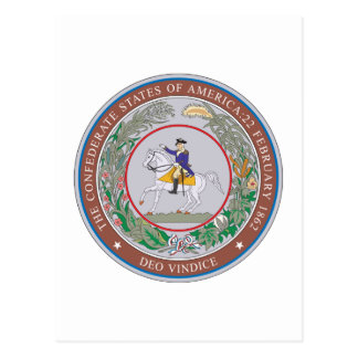 Carte Postale États confédérés de joint d'Amérique