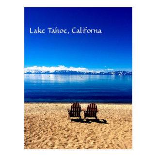 Carte Postale Été de attente sur le lac Tahoe