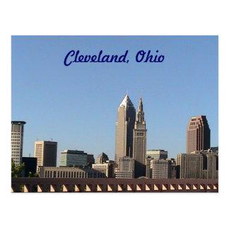 Carte Postale Été de Cleveland, Ohio