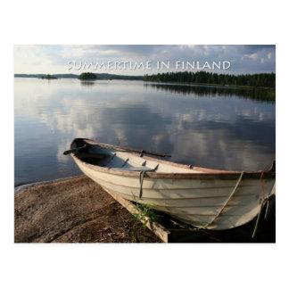 Carte Postale Été en Finlande