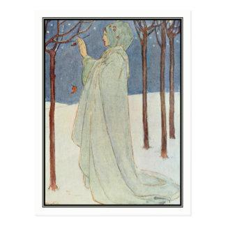 Carte Postale Été (hiver) par Florence Harrison