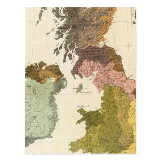 Carte Postale Ethnographique, Britannique du GT, Irlande