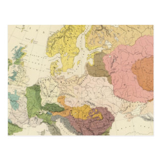 Carte Postale Ethnographique, l'Europe