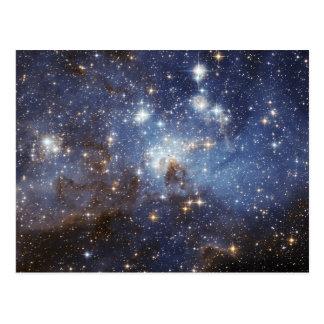Carte Postale Étoile de la main gauche 95 formant la NASA de