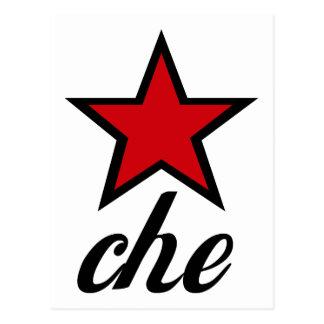 Carte Postale Étoile rouge Che Guevara !