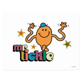 Carte Postale Étoiles de scintillement de M. Tickle |