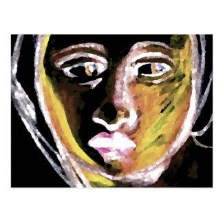 Carte Postale Étude d'art et de conception de Michaël Angelo