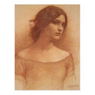Carte Postale Étude pour Madame Clare