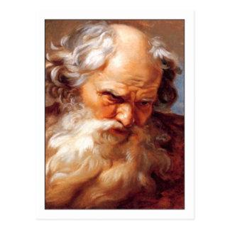 Carte Postale Étude pour Neptune par le doyen de Gabriel