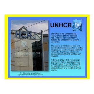 Carte Postale Études sociales, UNHCR, Genève