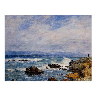 Carte Postale Eugene Boudin : Antibes, le point de l'îlot