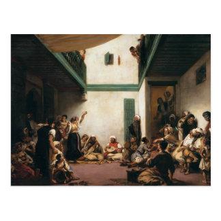 Carte Postale Eugene Delacroix- un mariage juif au Maroc