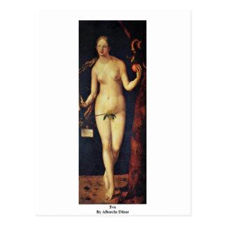 Carte Postale Eva par Albrecht Dürer