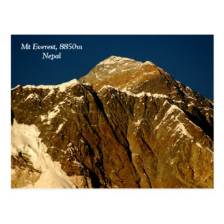 Carte Postale Everest