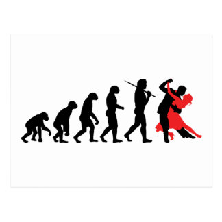 Carte Postale Évolution - danse