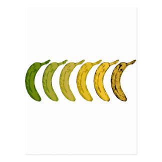 Carte Postale Évolution de banane